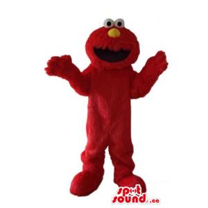 Sesame Street monstruo rojo...