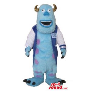 Sully blue monster with...