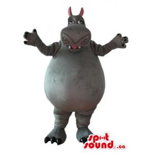Madagascar Hippo cartoon...