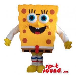 Orange Sponge Bob cartoon...