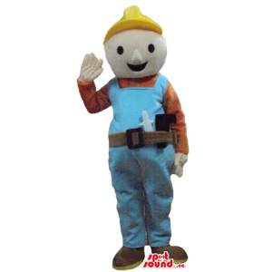 Bob the builder in yelow...