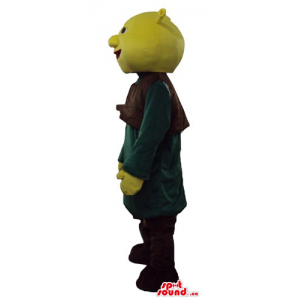 Shrek in long green t-shirt...