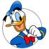Donald Duck mascots