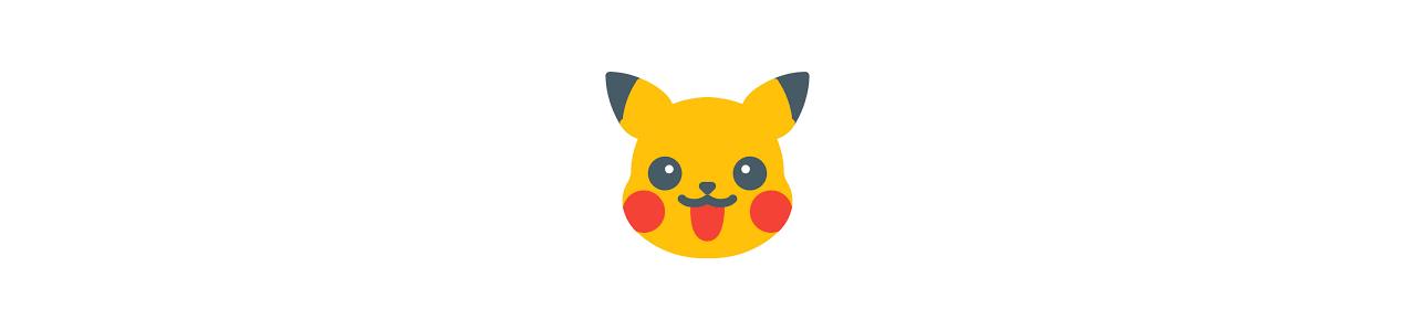 Mascots - SPOTSOUND CANADA -  Pokémon mascots