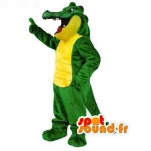 Mascotte du jour chez SPOTSOUND: Mascotte de crocodile vert et jaune - Costume de crocodile . Découvrez les mascottes @spotsound_mascots #mascotte #mascottes #marketing #costume #spotsound #personalisé #streetmarketing #guerillamarketing #publicité . Lien: https://www.spotsound.fr/fr/3071-mascotte-de-crocodile-vert-et-jaune-costume-de-crocodile.html